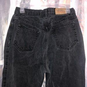 Cute Vintage Black Jeans
